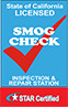 California Smog Check Inspection Station logo small